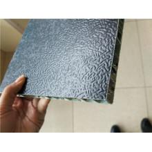 Paneles de cerramiento de panal de aluminio de color negro