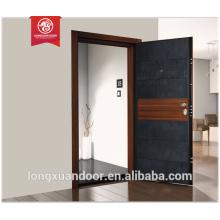 Porta de porta de madeira blindada de porta de porta da Itália porta de segurança para casas Qualidade Escolha
