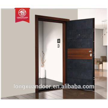 Porte de porte en acier armé en acier à la porte en Italie porte de sécurité pour les maisons Choix de qualité