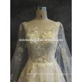 Производители OEM свадебные платья плюс Размер с рукавами