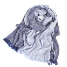 Nouveau style de mode 50% coton 50% viscose musulman hijab style arabe femmes coton hijab viscose châle