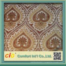 Mobilier d'ameublement Chenille Tissu jacquard Textile maison