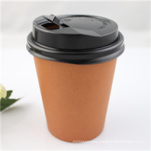 10oz Disposable Paper Coffee Cup with Cover