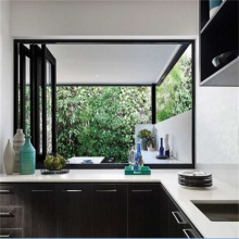 Aluminium Double Glazed Folding Ventilation Window
