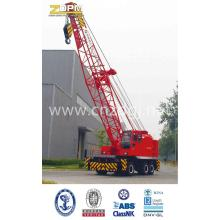 Tire crane using electricity or oil