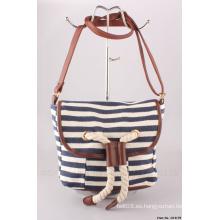 2015 Nuevo bolso de la lona para la señora (H14179)