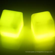 cubos de gelo de iluminação