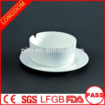 wholesale two-hole shape ceramic/porcelain astray