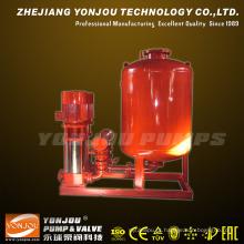 Sistema de Bomba de Abastecimento de Água para Combate a Incêndios