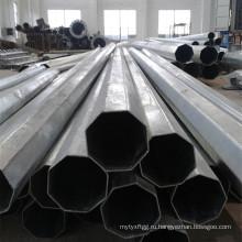 8 м оцинкованный стальной трубчатый столб