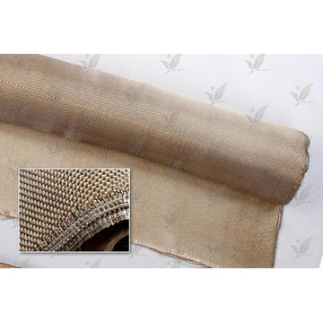 Couverture de soudure en fibre de verre Prix d'usine Couleur dorée