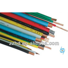 pvc cover wire for Chile thw /tw awg 14 12 10 8 6 solid /strand wire