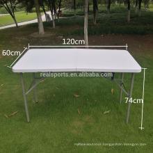 Plastic Wholesale Folding Table Rectangle Plastic Folding Pool Table 8ft