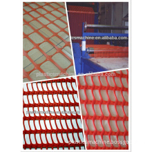 PP plastic safety fence machine