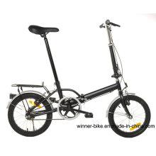 Bicicleta plegable de una sola velocidad de 16 ''