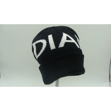 De alta calidad Coloftul Jacquard acrílico gorro de sombrero (ACEK0078)