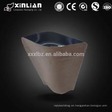 Alibaba China Proveedor Personalizado Impreso Eco-friendly Papel de aluminio Kraft Paquete de papel / bolsa de alimentos