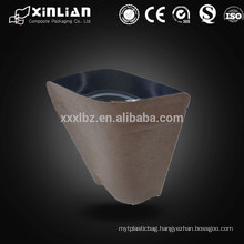 Alibaba China Supplier Custom Printed Eco-friendly Aluminum Foil Kraft Paper Bag/food packaging bag