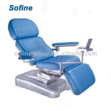 ISO, CE genehmigt Elektrische Blutspende Stuhl, Medical Electric Stuhl Blutspender Stuhl