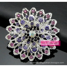 anniversary brilliant crystal statement brooch