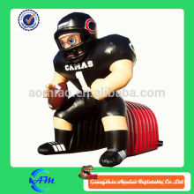 giant nfl inflatable football player tunnel