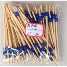 Moon Shape Bamboo Stick/ Skewer