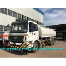 Foton Auman 6 * 4 танкер-автоцистерна для тяжелого дизельного топлива, 20KL нефтяной танкер с 6 отделениями на Филиппинах
