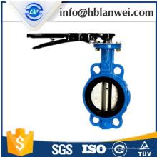 Manija de acero D71X-16 válvula de mariposa manual