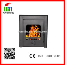 Insert designer wood fireplace factory supply WM-SBI-500