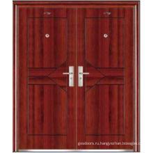 Стальные двери с двойной дверью (JC-031)