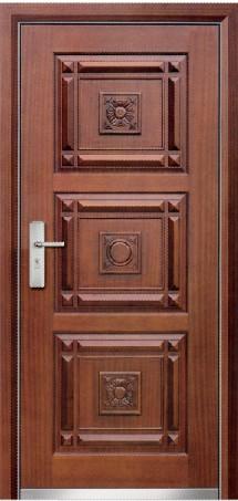 Turkey Style Turkish Door Steel Wooden Armored Door China Manufacturer