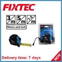 Fixtec 7.5m ABS Stahl Messband mit TPR Kunststoff Gummi