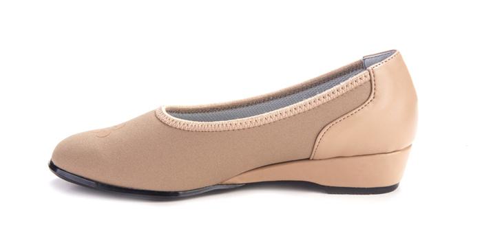 proper height heel office shoes