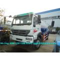 Euro IV Sinotruck 4x2 camión de aguas residuales de la succión, 12cbm camiones de aguas residuales del vacío para la venta