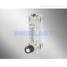 Corrosion Resistant Glass Tube Rotameter Customized