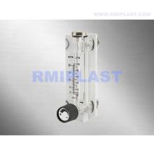 Rotamètre de tube en verre résistant à la corrosion adapté aux besoins du client