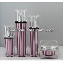 Square Luxury Acrylic Bottle For Lotion Packaging 30ml 60ml 100ml