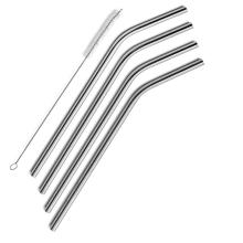 Hot Sale Customizable Stainless Steel Drinking Straws