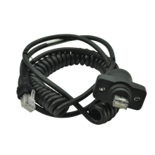 Symbol Barcode Scanner Coiled Cable Assembly