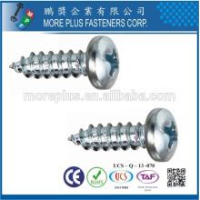 Fabricante en Taiwán Acero inoxidable M2.2X16 Cabeza de la cacerola Tornillo pequeño del tamaño Taptite