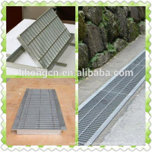 galvanized drainage ditch ,drainage, trench grating