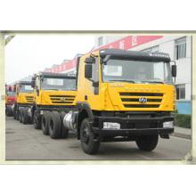China fabricação fábrica de caminhão 6x4 pesados Genloy Iveco