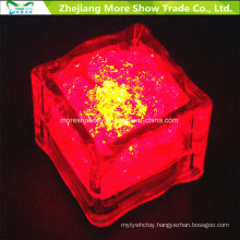 Wholesale Water Sensor Flashing LED Ice Cubes Glowing Drinkable Decor for Event Party Wedding