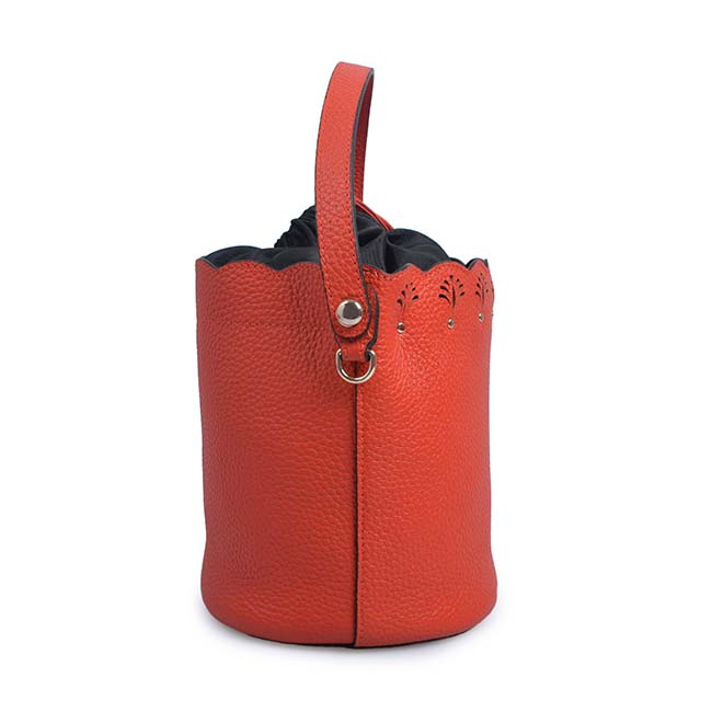 Bucket Bag High Leather Bags Women Handbag