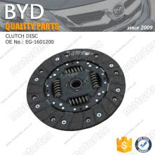 Disco de embreagem OE BYD f3 peças de reposição EG-1601200