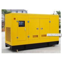 200kw Super Silencioso Canopy Silencioso Diesel conjunto de generador a prueba de sonido