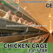 layer egg chicken cage/poultry farm house design                                                                         Quality Choice