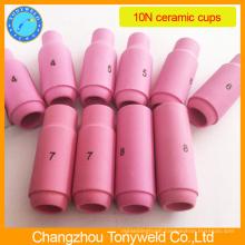Tig 10N series ceramic nozzle