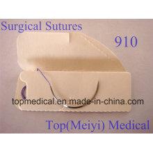 Chirurgische Naht mit Nadel - Polyglaktin 910 Geflochtene Naht