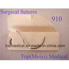 Surgical Suture with Needle-- Polyglactin 910 Braided Suture